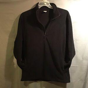 OLD NAVY women's high collar pullover sz L black
